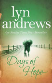 Days of Hope by Lyn Andrews - book cover