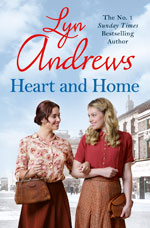 Heart and Home by Lyn Andrews (book cover)