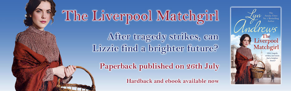 The Liverpool Matchgirl by Lyn Andrews - cover