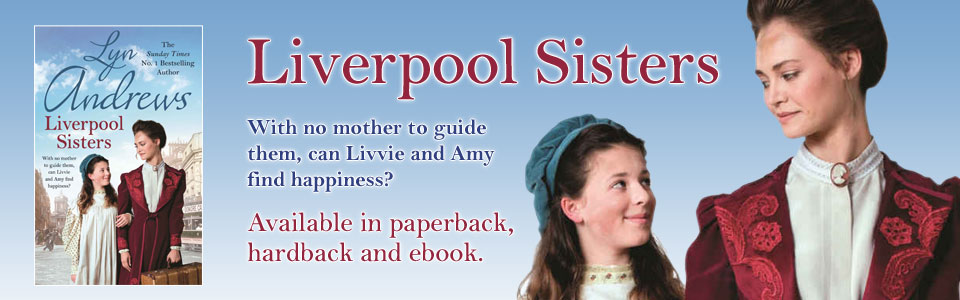 Liverpool Sisters by Lyn Andrews - bookcover