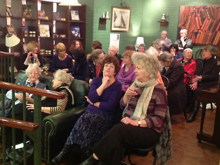 Lyn Andrews event at Linghams Heswell